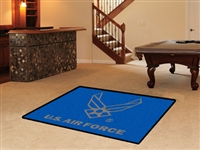 "U.S. Air Force 4x6 Area Rug 46""x72"""