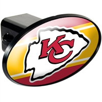 Kansas City Chiefs Trailer Hitch Cover