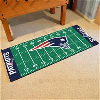 "New England Patriots Runner Mat 30""x72"""