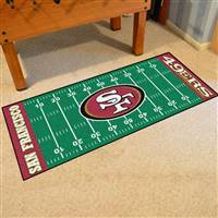 "San Francisco 49ers Runner Mat 30""x72"""
