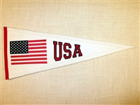USA Traditions Mid-Size Traditions Wool Banner