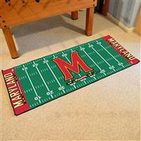 "Maryland Terrapins Football Field Runner Mst 30""x72"""
