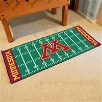 "Minnesota Golden Gophers Football Field Runner Mat 30""x72"""