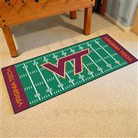 "Virginia Tech Hokies Football Field Runner Mat 30""x72"""
