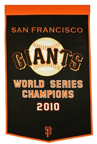 San Francisco Giants Large Dynasty Wool Banner