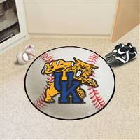 "Kentucky Wildcats Baseball Rug 29"" diameter"