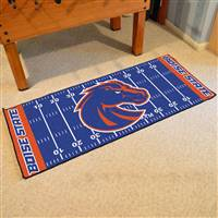 "Boise State Broncos Football Field Runner Mat 30""x72"""