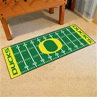 "Oregon Ducks Football Field Runner Mat 30""x72"""