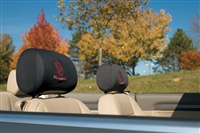 Oklahoma Sooners Car Headrest Covers (Set of 2)