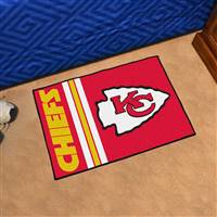 "Kansas City Chiefs Starter Rug 20""x30"", Uniform Inspired Design"
