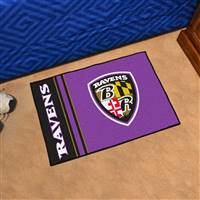 "Baltimore Ravens Starter Rug 20""x30"", Uniform Inspired Design"