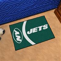 "New York Jets Starter Rug 20""x30"", Uniform Inspired Design"
