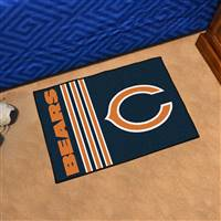 "Chicago Bears Starter Rug 20""x30"", Uniform Inspired Design"
