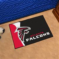 "Atlanta Falcons Starter Rug 20""x30"", Uniform Inspired Design"