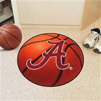 "Alabama Crimson Tide Basketball Rug 29"" Diameter"