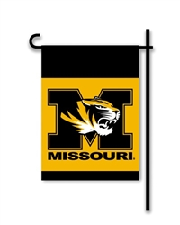BSI Products Missouri Tigers 2-Sided Garden Flag