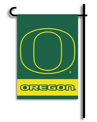 Oregon Ducks 2-Sided Garden Flag Set