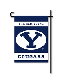 Brigham Young Cougars 2-Sided Garden Flag
