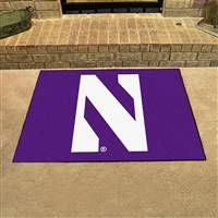 "Northwestern Wildcats All-Star Rug 34""x45"""