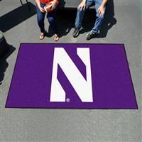 "Northwestern Wildcats Tailgating Ulti-Mat 60""x96"""