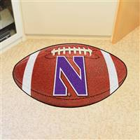 "Northwestern Wildcats Football Rug 22""x35"""