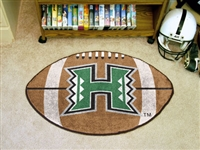 "Hawaii Warriors Football Rug 22""x35"""
