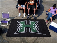 "Hawaii Warriors Tailgating Ulti-Mat 60""x96"""