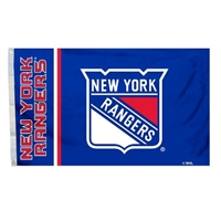 New York Rangers 3 Ft. X 5 Ft. Flag W/Grommetts