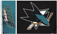 San Jose Sharks 3 Ft. X 5 Ft. Flag W/Grommetts