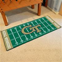 "Georgia Tech Yellow Jackets Runner Mat 30""x72"""