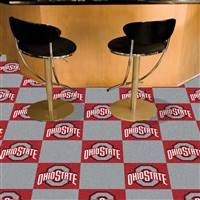 "Ohio State Buckeyes Carpet Tiles 18""x18"" tiles, Covers 45 Sq. Ft."
