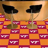 "Virginia Tech Hokies Carpet Tiles 18""x18"" tiles, Covers 45 Sq. Ft."
