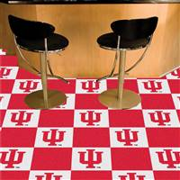 "Indiana Hoosiers Carpet Tiles 18""x18"" tiles, Covers 45 Sq. Ft."