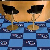"Tennessee Titans Carpet Tiles 18""x18"" Tiles, Covers 45 Sq. Ft."
