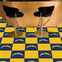 "San Diego Chargers Carpet Tiles 18""x18"" Tiles, Covers 45 Sq. Ft."