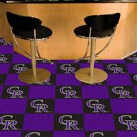 "Colorado Rockies Carpet Tiles 18""x18"" Tiles, Covers 45 Sq. Ft."