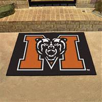 "Mercer Bears All-Star Rug 34""x45"""