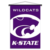 Kansas State Wildcats Indoor Banner Scroll