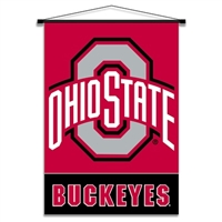 BSI Proucts Ohio State Buckeyes Indoor Banner Scroll