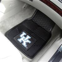 "Kentucky Wildcats Heavy Duty 2-Piece Vinyl Car Mats 18""x27"""