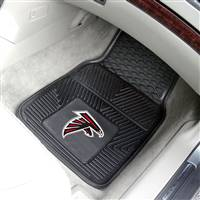 "Atlanta Falcons Heavy Duty 2-Piece Vinyl Car Mats 18""x27"""