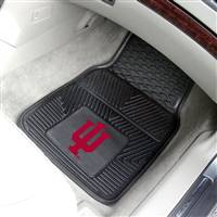 "Indiana Hoosiers Heavy Duty 2-Piece Vinyl Car Mats 18""x27"""