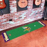 "Minnesota Vikings Putting Green Runner Mat 18""x72"""