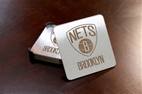 Sportula Brooklyn Nets Premium Stainless Steel Boasters - 4 Pack