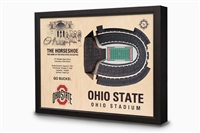 Stadium Views Wall Art Series;Ohio State Buckeyes