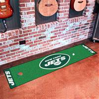 "New York Jets Putting Green Runner Mat 18""x72"""