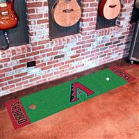 "Arizona Diamondbacks Putting Green Runner Mat 18""x72"""