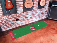 "Cleveland Indians Putting Green Runner Mat 18""x72"""