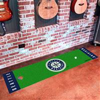 "Seattle Mariners Putting Green Runner Mat 18""x72"""