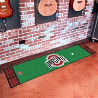 "Ohio State Buckeyes Putting Green Runner Mat 18""x72"""